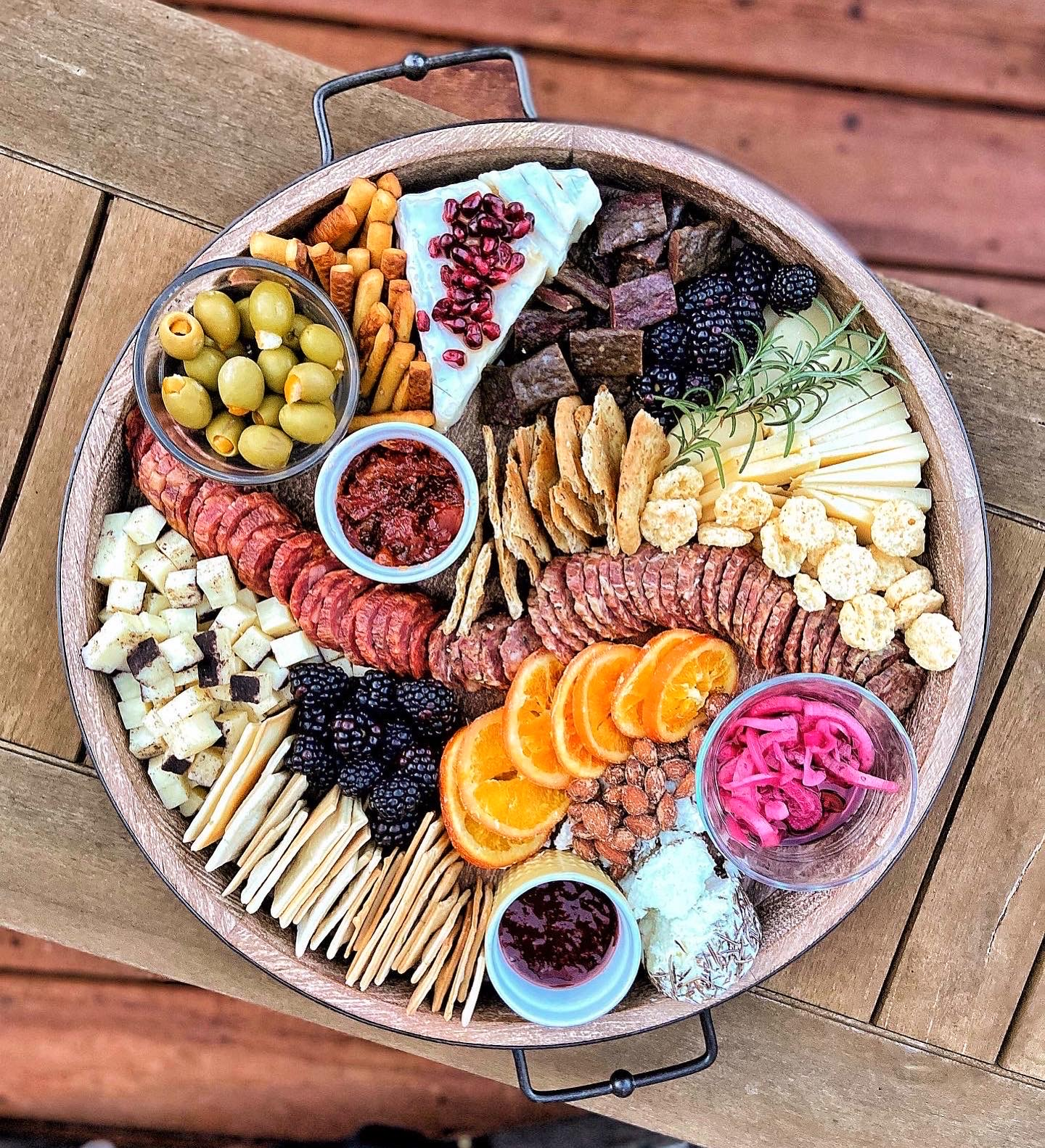 Cheese Board with NC Goods